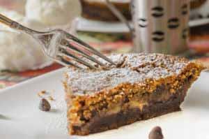MIC Food Plantain Pie Chocolate chip