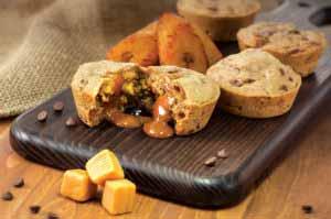MIC Food Sweet Plantain & Caramel Chocolate Chip Muffin