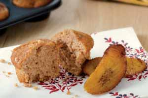 MIC Food Sweet Plantain Power Muffin
