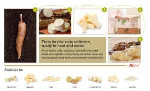 mic food yuca cassava