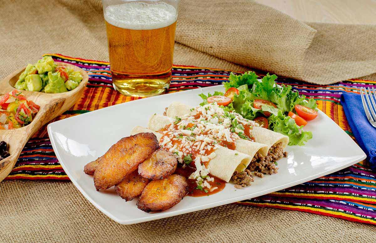 Enchiladas mic food
