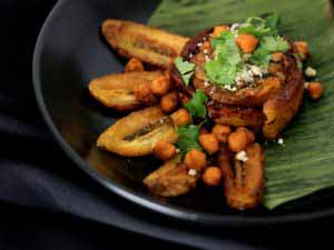 MIC Food Big Banana Plantains Vegan Pastelon Roll Chef Jessica Carter