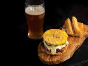 MIC Food Toston Cuban Sandwich