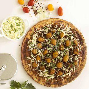 Plantain Picadillo Pizza
