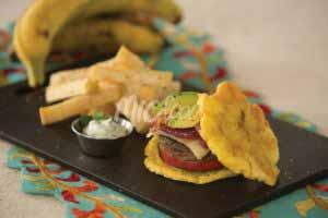 MIC Food Hawaiian Toston Burger